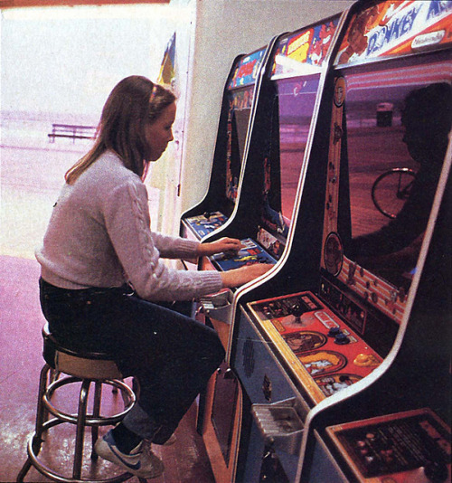 beefless:  donkey kong / boardwalk arcade, '81-'82from Tom Edler collection