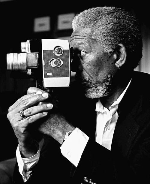 jaimejustelaphoto:  Morgan Freeman by Bradley Patrick