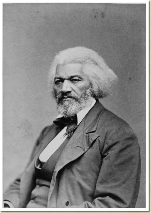 "todaysdocument:  Frederick Douglass, February 1818 - February 20, 1895 ""If there is no struggle, there is no progress."" Born into slavery in Maryland in 1818, Frederick Douglass went on to become a prominent abolitionist, author, orator and statesman.  Frederick Douglass, ca. 1879 From the Frank W. Legg Photographic Collection of Portraits of Nineteenth-Century Notables:"