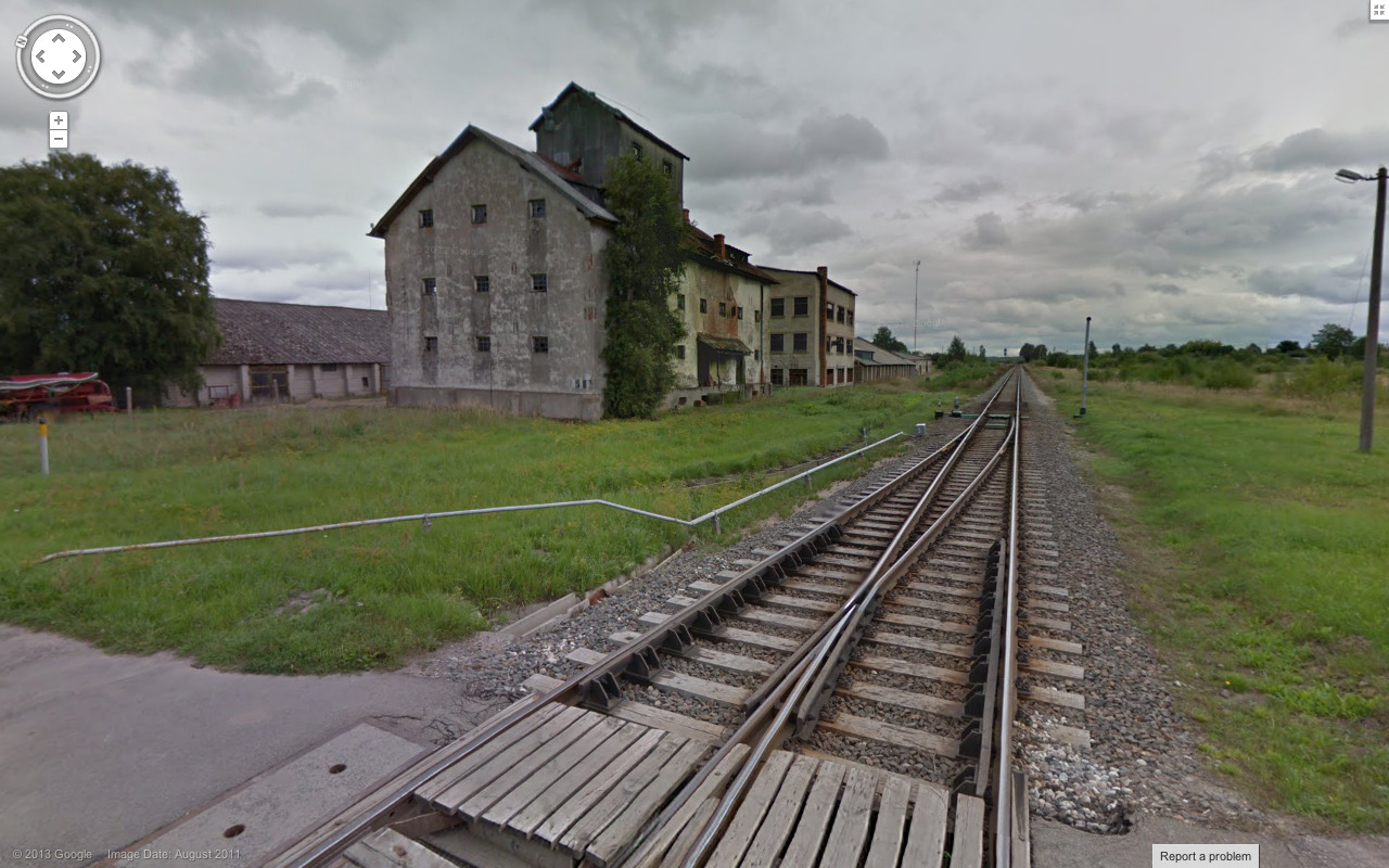 streetviewcollection:  Skrunda-1, Latvia
