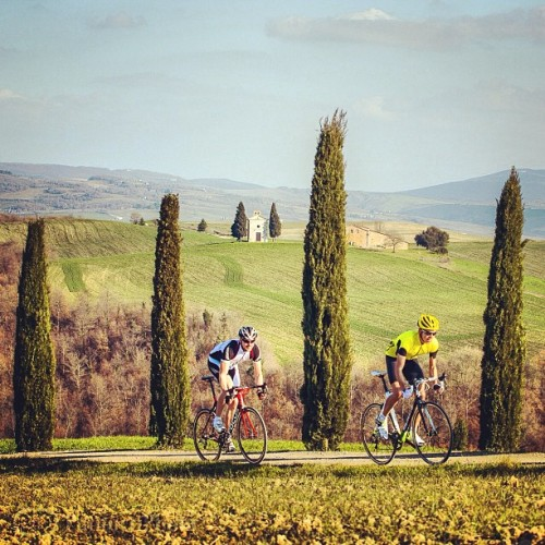 "danpatitucci:  The, ""How could you resist"" Tuscan cycling classic."