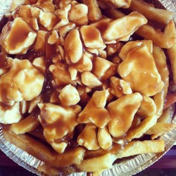 Authentic Québec City poutine. Get in ma belly. #poutine #québec #canada #nom