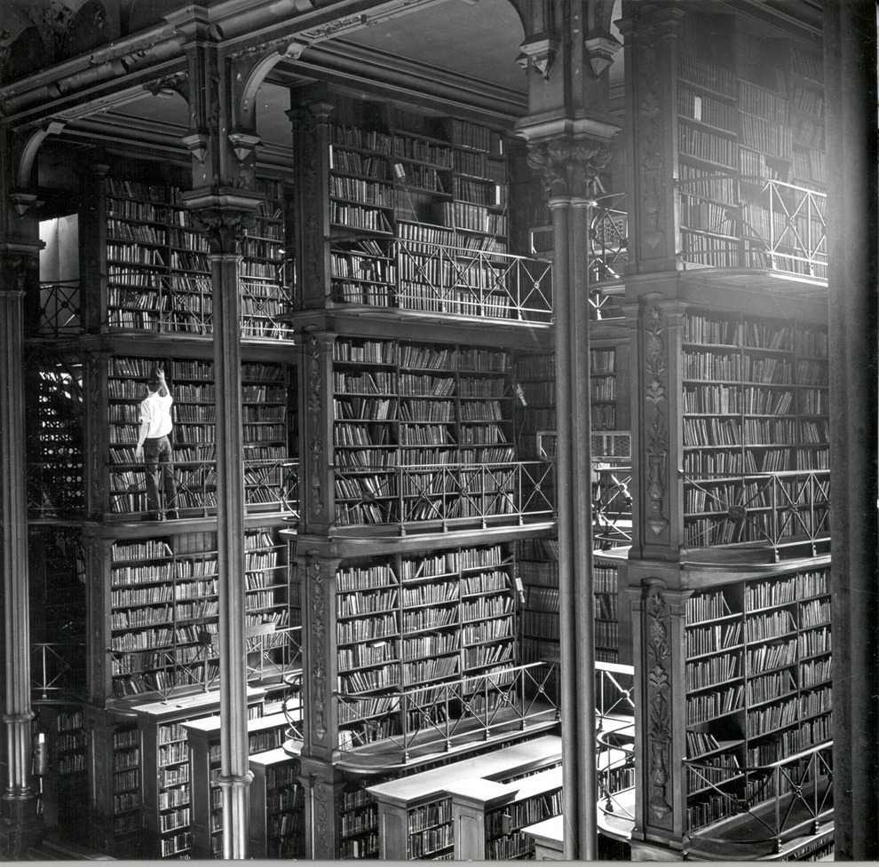 Stacked: Public Library of Cincinnati, date unknown (via Buzzfeed)