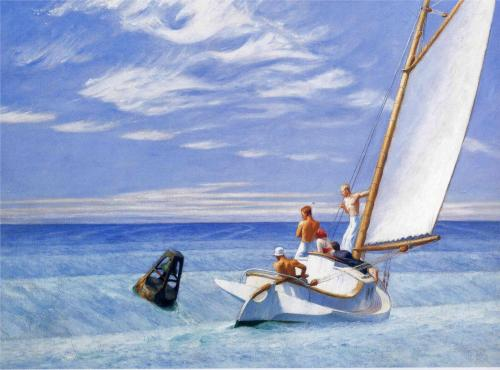 Edward Hopper - Ground Swell 1939 HD