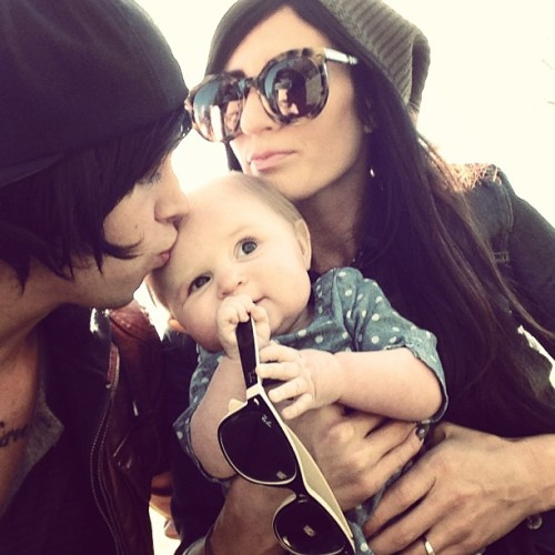 ofsquidgyandkellin:  princess—-satan:  Asdfghjkl;This is why I love Kellin. Him and his wife are so adorable and Copeland is just too freaking cute.   I was watching the bryanstars interview with Matty Mullins, and he was talking about how lovely of a father Kellin was. He said that regardless of the expense he would travel by plane on his days off just to see Copeland for a couple of hours. It really warmed my heart, knowing that my role model and hero is being the best person and father he can be :3
