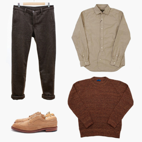 (via F R E E / M A N - Journal - Winter KiT N°7 - Khaki & Brown)