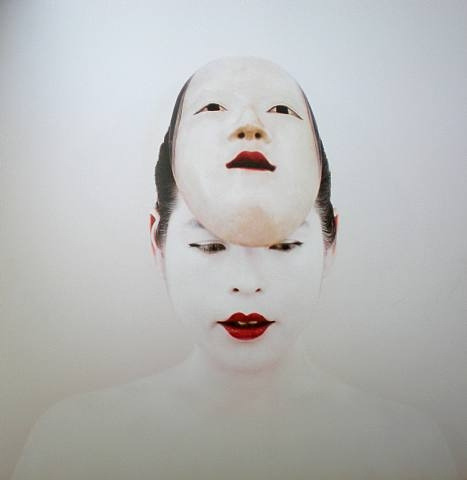 untrustyou:  The Bride with the Nô mask, Kimiko Koshida, 2005  by JLQ831 on Flickr.