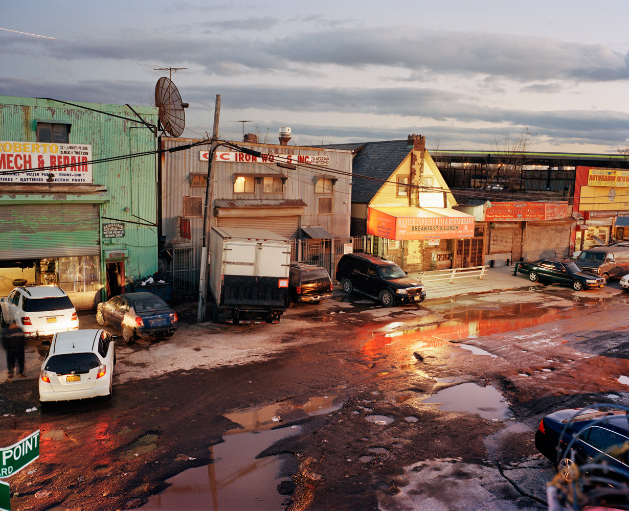 thomasprior:  dusk, queens, 2012