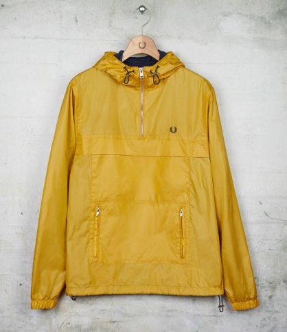 Awesome yellow Fred Perry Cagoule check out my blog www.thecagoule.com
