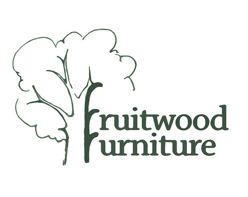 The new logo for Fruitwood Furniture