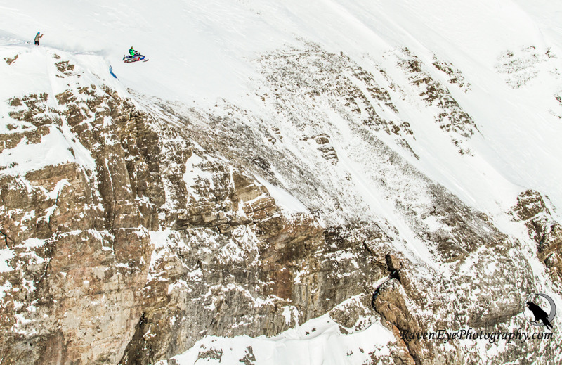 Watch Erik Roner launch Shane McConkey's sled off an 800-foot cliff!! Roner Vision: http://youtu.be/fzaU2EoZc_s