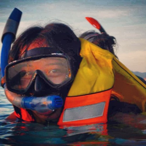 Me and the sea #giliterawangan #lombok #beach #snorkling #amazing #indonesia #trip #holiday