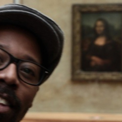 #TBT In Paris chillin' with Mona Lisa…. For REAL :-) #miyabailey