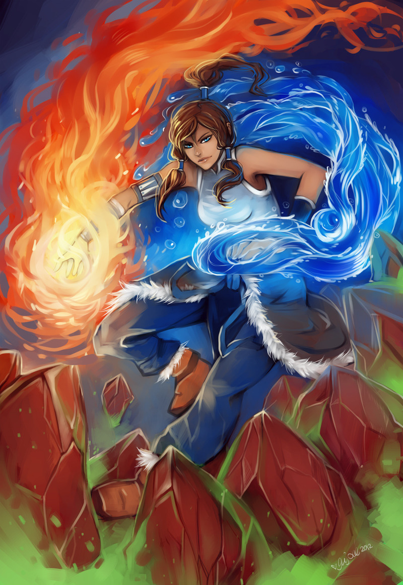 xheartstation:  Avatar Korra by Enijoi