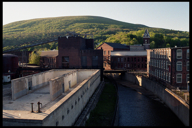 massmoca:  bridgesworthburning:  Fuji Superia 200 film  Nice photo of our campus. We can't wait for those green hills!  At the risk of sounding like a brag, I still can't believe this is going to be my workplace this summer.