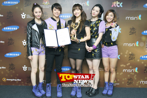 [PIC] 130116 The 27th Golden Disk Awards [5] Cr: topstarnews