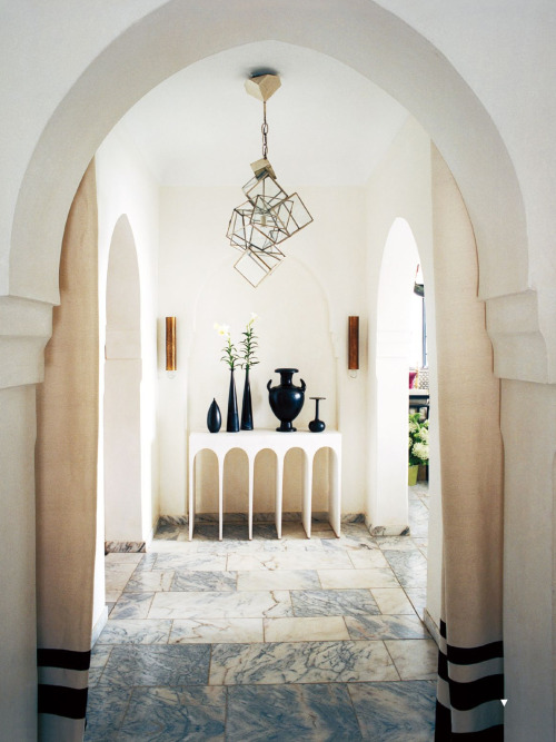 {On the blog} Interiors: A Designing Duo's Moroccan Getaway