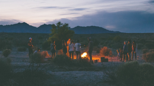 rainydaysandblankets:  saltandsteel:  A few weekends ago, some friends and I took a trip to the desert. While we were there, we were able to completely relax… we literally sat around in the sun for days either on a chair or raft. It was glorious.  Almost every night, we found ourselves out in the desert. This night in particular will always stick out in my mind when I recall this trip. It was an evening of shoot guns, smoking pipes, and eating smores. The best part of all of this were the people… the good friends…. the family that were all present. I'm so very thankful for each of them. ALSO, may I add that the sunsets in the desert are surreal!  There's nothing like being with the people you love out in a desolate place.   ^ so ideal.