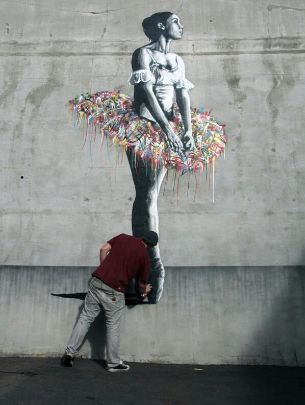 Martin Whatson New Mural In Oslo, Norway