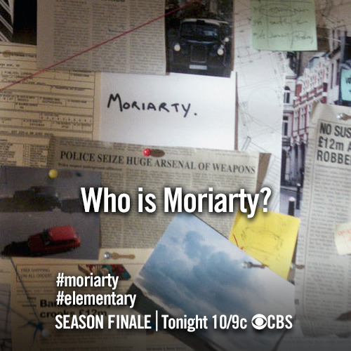 Don't miss the season finale of #Elementary tonight at 10/9c!