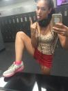 Gym time omg @melanieteensoles