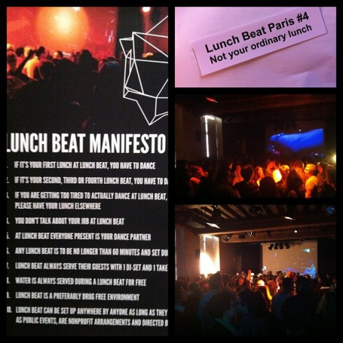 @_ava: Pause dej on the dancefloor #lunchbeat #institutsuedois http://t.co/riBrXh9aLo