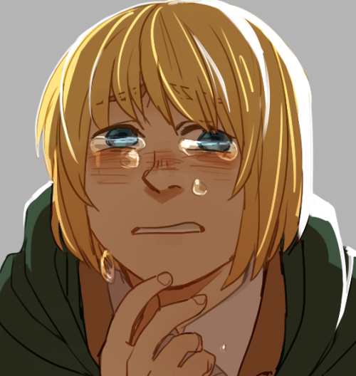 all my snk fanarts are armin