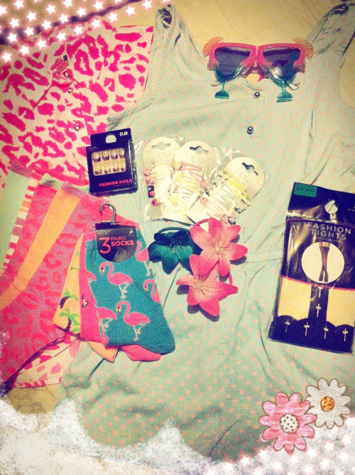 Just a few of the things I got yesterday~