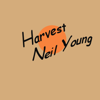 clipartcovers:  Harvest by Neil Young. Original. (7)
