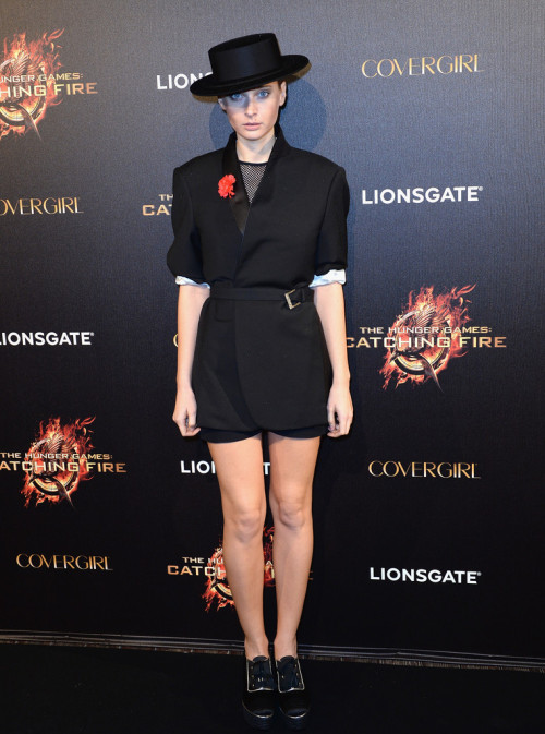 hackerepublic:  suicideblonde:  Rooney Mara at The Hunger Games: Catching Fire photocall during the Cannes Film Festival, May 18th  that's not rooney