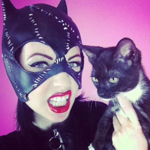 Cat women adventures with Willy!! #doublemeow #catwomen #lynnpops #popscandysmut #fetish #rubber