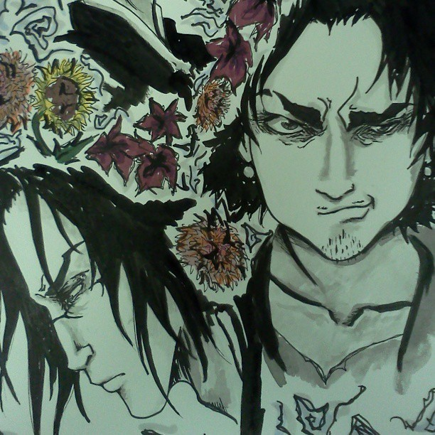 gestureandform:  Oops #samuraichamploo #art  aaaaaaaaaaahhhh this is amazing!