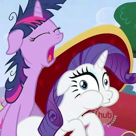It only hurts the first time, Rarity.