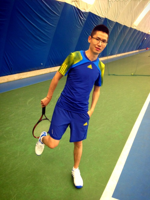 Roland Garros 2013 total look at 朝阳体育中心网球场地 – View on Path.