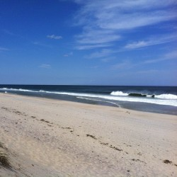 Open ocean on Nauset Beach. #capecod #beach