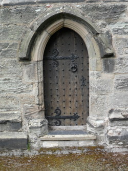 Small Arched door , St Peter's Parish church, Market Bosworth, Leicestershire, England All Original Photography by http://vwcampervan-aldridge.tumblr.com