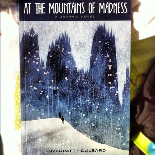"#justread ""At the Mountains of Madness"" adapted and illustrated by I.N.J. Culbard  Thoroughly enjoyed the illustration and the story. Def recommend! #comics #Lovecraft"