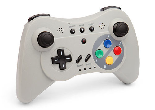 gamefreaksnz:  Pro Controller U For Wii & Wii U US $39.99 Product Specifications Multi-function controller for Wii, Wii U, and Android 3-in-1 triple functionality: Wii Remote with motion control Classic Controller with retro D-pad Pro Controller with analog joysticks, triggers, speakers, and vibration  Infinite gaming time with rechargeable battery Flip a switch to change from Wii Remote to Controller mode For Android devices: download a Wii Remote app and pair your controller to your device via Bluetooth.