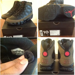 chapmanamerica:  For Sale or Trade - AJ 9 Olive DS size 10 (need a 10.5 for trade) Make an Offer