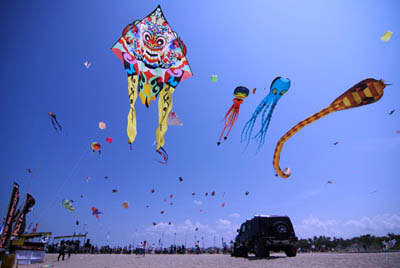 Bali Kite Festival35th Bali Kite Festival Date : July 21 – 24, 2013 (unconfirmed)Location: Padang Galak, Sanur Beach,…View Post