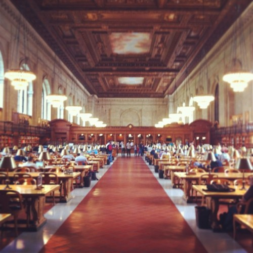 Research Time #nypl #nyc #manhattan #library #5thavenue