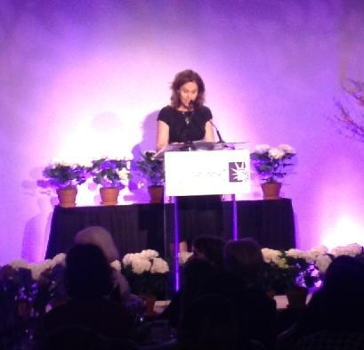 "And Amy Brenneman, star of ""Private Practice,"" shared her moving story with the crowd. We're so thankful she could join us for our annual Power of Choice event in San Francisco."