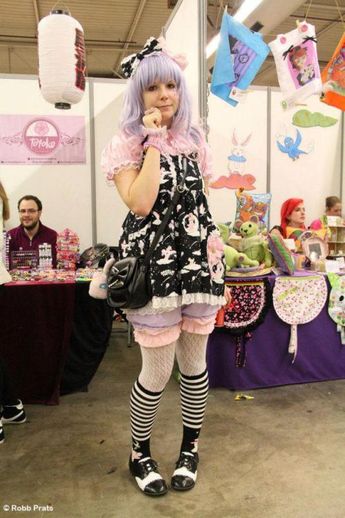At Paris Manga (February 2013)