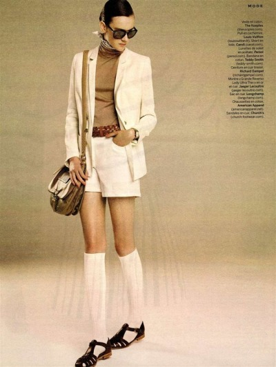 Stylist magazine featured the Ribbed Modal Over-the-Knee Sock in their May 2013 issue. Click here to visit our online store to shop this style now!