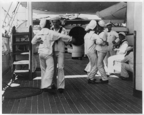frances benjamin johnston deck ship warship sailor dance dancing 1890& 039;s vintage photography weird homoerotic homosexuality gay