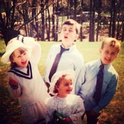 Notice my sailor outfit ⚓ #repost #tbt #cousins #easter #fancy #funny #younglsig #dgintraining