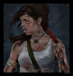 forevertombraider:  Tomb Raider Reborn - Lara Croft by *Awynt