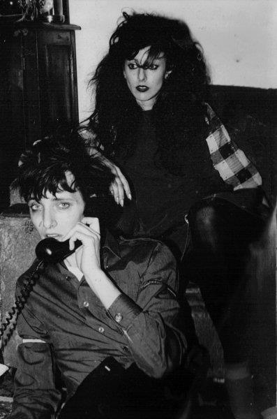 lady-of-various-sorrows:  Rowland S. Howard and his (twin!?) sister Angela. Beauties,