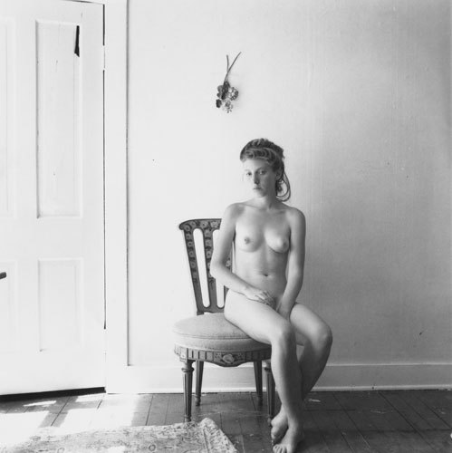 Untitled, Providence, Rhode Island by Francesca Woodman, 1978 Also