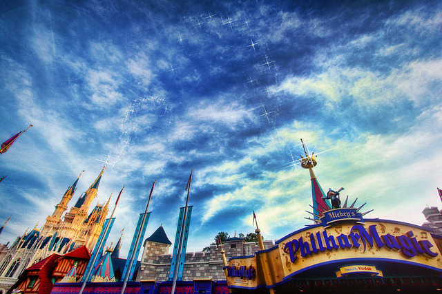 disneyendlessmagic:  A PhilharMagical Twilight by Samantha Decker on Flickr.